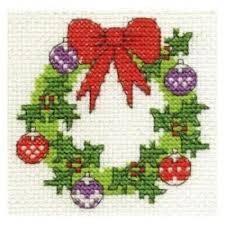 BK978-D Коледен венец