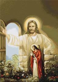B411 Исус пред портите