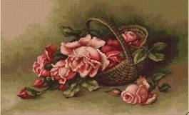 B483 Панер с рози