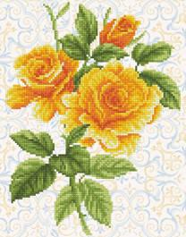 Букет жълта роза