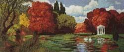 Златна есен - пейзаж