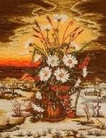 Зимен букет - цветя