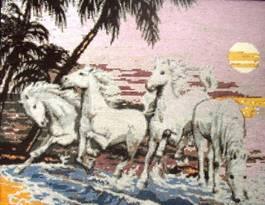 Бели коне