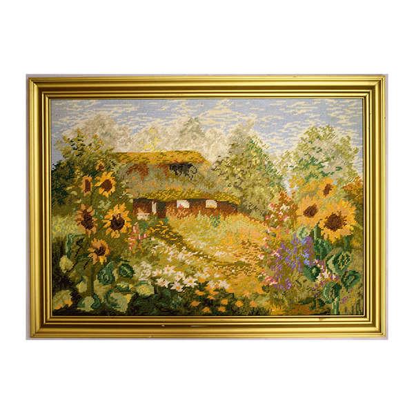Къща със слънчогледи