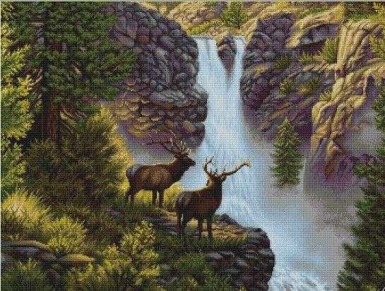 B470 Край водопада