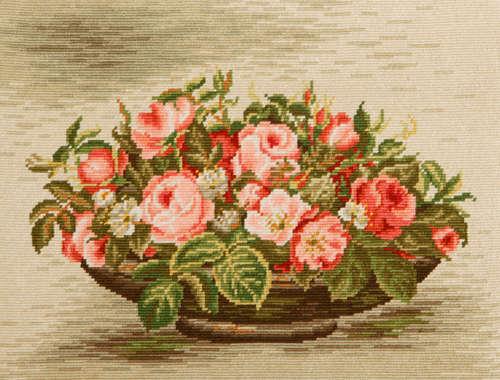 Рози в панер